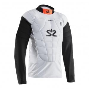 Salming E-Series Protective Vest White/Orange, XL
