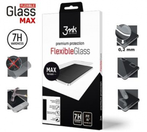 Hybridní sklo 3mk FlexibleGlass Max pro Honor 10 Lite, černá