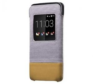 Pouzdro BlackBerry ACC-63006-002 SMART kapsa pro DTEK50 šedo-hnědá (BLISTR)