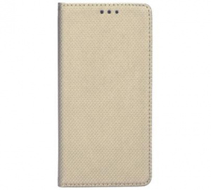 Pouzdro kniha Smart pro Huawei Y5 2019, Honor 8S, zlatá