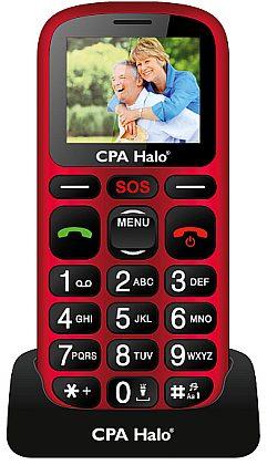 myPhone 1016 SENIOR - CPA Halo 16, Red / červená