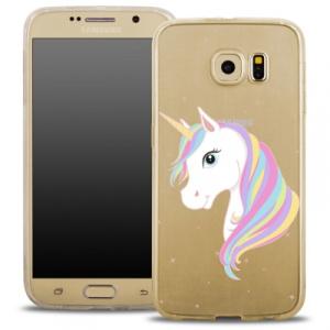 Pouzdro Back Case FASHION Samsung A510 Galaxy A5 (2016) transparentní - jednorožec