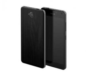 Kryt zadní MOZO pro Microsoft Lumia 650 černá (BLISTR)