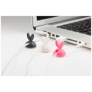 Kabelový organizér Cable Candy Bunny Beans, 5 ks, různé barvy