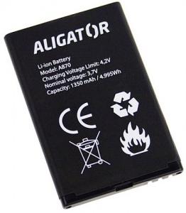 Baterie Aligator A800, A850, A870, D920 1450mAh Li-Ion