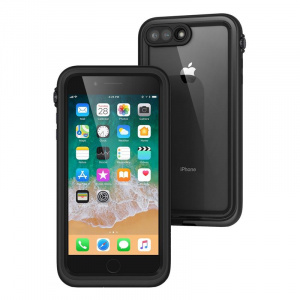 Catalyst Waterproof case, black - iPhone 8+/7+