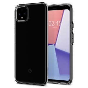 Spigen Liquid Crystal, clear - Google Pixel 4
