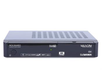 MASCOM MC9130 UHDCI Smart, 4K UHD, DVB-/T2/C//S2, CI+, combo