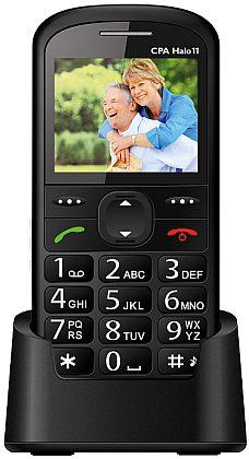 myPhone 1011 SENIOR - CPA Halo 11, černý