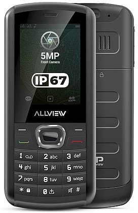 ALLVIEW M9 JUMP Black (dualSIM) - vodě odolný outdoor IP67