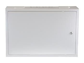 Kovový rozváděč montážní skříň 600x400x200mm TPR-23w, lesklá bílá