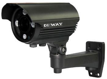 DI-WAY AHD venkovní IR kamera 1080p, 4-9mm, 60 m,   4in1 AHD/TVI/CVI/CVBS