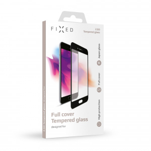 Ochranné tvrzené sklo FIXED Full-Cover pro Nokia 5, přes celý displej, černé, 0.33 mm