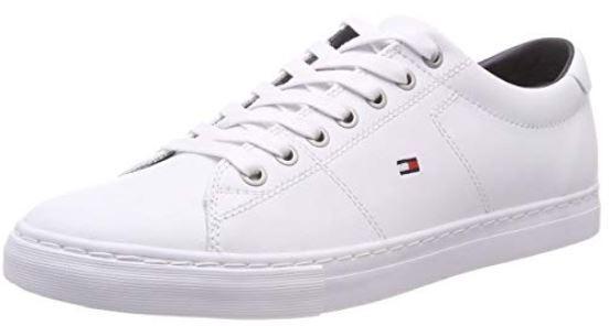 Pánské tenisky Essential Leather Sneaker White FM0FM02157-100
