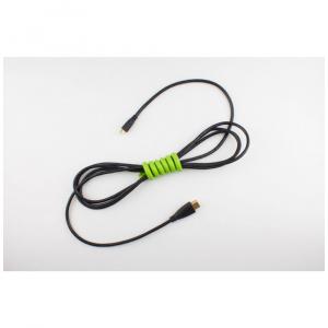 Kabelový organizér Cable Candy Snake, 2 ks, černý