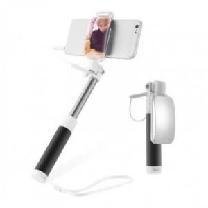 Selfie držák HOCO Magic Mirror K2 3,5mm jack barva černá