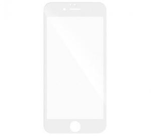 Tvrzené sklo 3D pro Samsung Galaxy A3 2017, plné lepení, bílá