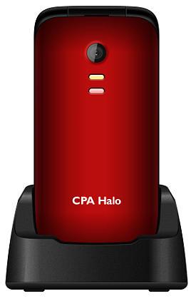 myPhone 1013 SENIOR - CPA Halo 13, červený + nabíjecí stojánek (véčko)