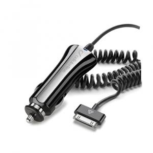 Autonabíječka Cellularline pro Apple iPhone 4S, 1A černá