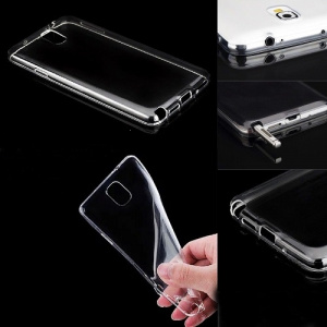 Pouzdro Back Case Ultra Slim 0,3mm Samsung A105 Galaxy A10 transparentní