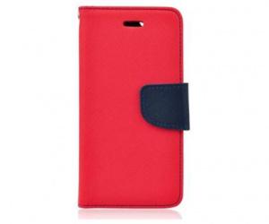 Pouzdro typu kniha pro Samsung Galaxy A7 2018 (SM-A750), červeno-modrá (BULK)