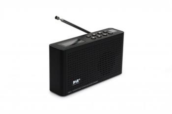Rádio TON4 DAB+/FM/INTERNET/BLUETOOTH, černá