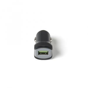 CL autonabíječka CELLY Turbo s USB výstupem, 2,4 A, černá