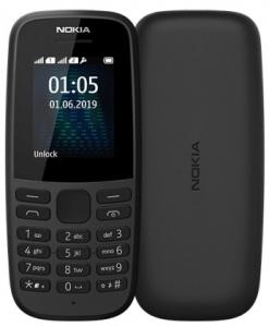 Nokia 105 DS Black (dualSIM) 2019