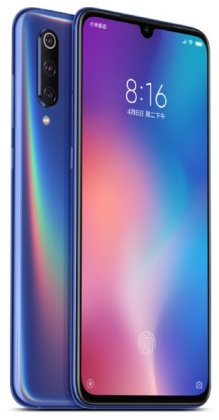 Xiaomi Mi 9 128GB/6GB CZ-LTE Blue Ocean (DualSIM 2sloty) Global
