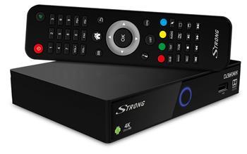 STRONG SRT 2402 Hybrid IP, DVB-S2/T2/C UHD 4K přijímač