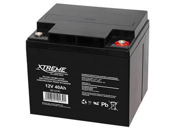 Baterie Xtreme 12V/40Ah gelový akumulátor