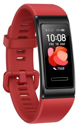 Fitness náramek Huawei Band 4 Pro Cinnabar Red