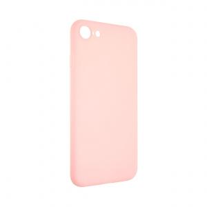 Zadní pogumovaný kryt FIXED Story pro Samsung Galaxy A42 5G, růžový