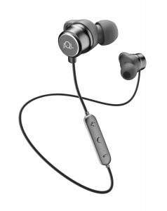 Sportovní bezdrátová sluchátka Cellularline Speed, AQL® certifikace, černá