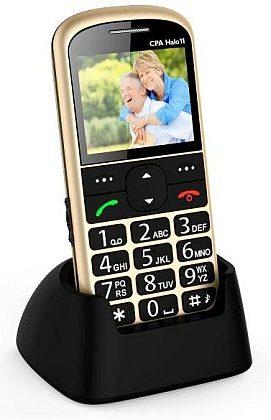 myPhone 1011 SENIOR - CPA Halo 11, zlatý