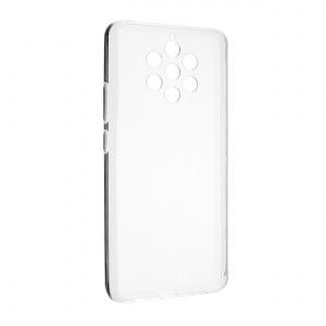 Ultratenké TPU gelové pouzdro FIXED Skin pro Nokia 9 Pureview, 0,6 mm, čiré