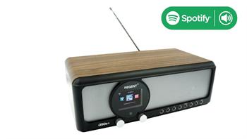 FERGUSON i350S+ – internetové rádio, DAB+ i FM, Spotify, USB, Bluetooth, tmavé
