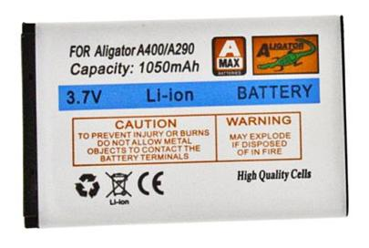Baterie Aligator A290, A330  1050mAh Li-Ion A321, A350, A360, A370, A400, A500, D730, D830, R5
