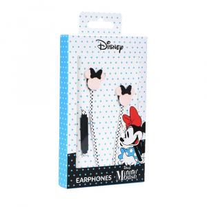 Hands Free Disney Minnie mouse hlava 3D 3,5 mm jack, barva růžová/černá