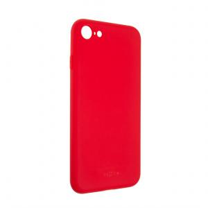 Zadní pogumovaný kryt FIXED Story pro Samsung Galaxy A42 5G, červený
