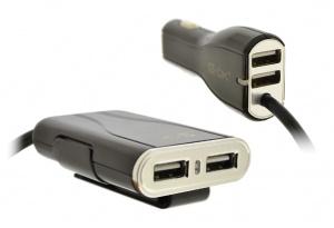CL AUTONABÍJEČKA 4-OK NA 4X USB 9,6A POWER S KABELEM 1,5M