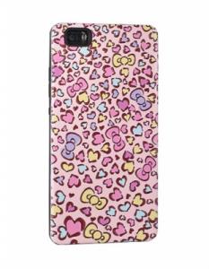 Pouzdro Back Case Hearts Samsung A520 Galaxy A5 (2017) růžová