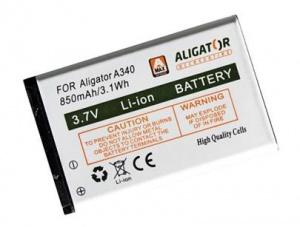 Baterie Aligator A340, A310, A311, A320, V600 850mAh Li-Ion