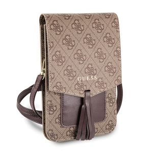 Pouzdro Guess 4G Handbag (wallet) GUWBSQGBE, barva hnědá