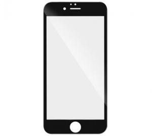 Tvrzené sklo 3D pro Huawei Y6 2017, plné lepení, černá