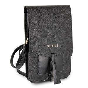 Pouzdro Guess 4G Handbag (wallet) GUWBSQGBK, barva šedá