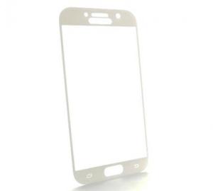 Tvrzené sklo Blue Star PRO pro Samsung Galaxy A3 2017 (SM-A320) celé pokrytí, bílá