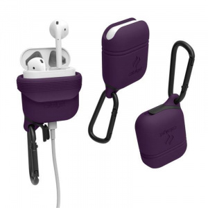Catalyst Waterproof case, deep plum - AirPods