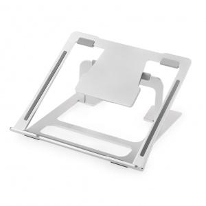 Skládací univerzální podstavec Desire2 pro notebooky, nastavitelný sklon, stříbrný,rozbaleno