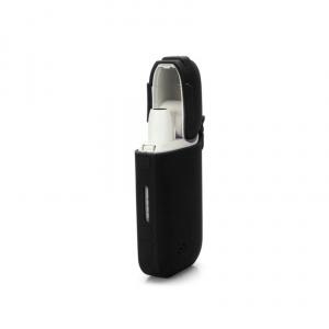 Silikonové pouzdro CELLY na elektronické cigarety IQOS, černé